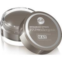 Bell Hypoallergenic Waterproof Mat Eyeshadow - Водостойкие матовые тени для век, тон 02, серо-коричневый, 23 гр