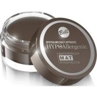 Bell Hypoallergenic Waterproof Mat Eyeshadow - Водостойкие матовые тени для век, тон 03, темно-коричневый, 23 гр