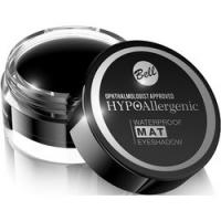 Bell Hypoallergenic Waterproof Mat Eyeshadow - Водостойкие матовые тени для век, тон 04, черный, 23 гр