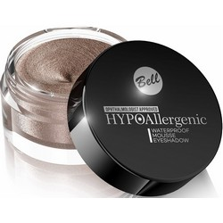 Фото Bell Hypoallergenic Waterproof Mousse Eyeshadow - Кремовые тени для век, тон 01, бронзовый, 23 гр