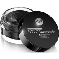 Bell Hypoallergenic Waterproof Mousse Eyeshadow - Кремовые тени для век, тон 05, черный, 23 гр