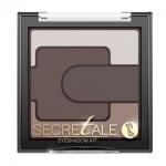 Фото Bell Secretale Eyeshadow Kit - Тени для век разноцветные, тон 1, коричневый, 5 гр