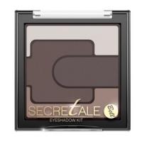 Bell Secretale Eyeshadow Kit - Тени для век разноцветные, тон 1, коричневый, 5 гр