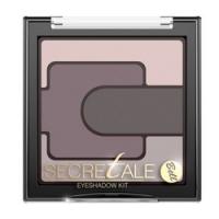 Bell Secretale Eyeshadow Kit - Тени для век разноцветные, тон 2, светло-коричневый, 5 гр