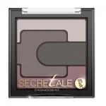 Фото Bell Secretale Eyeshadow Kit - Тени для век разноцветные, тон 4, коричневый, 5 гр