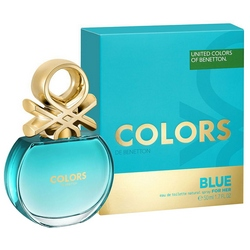 Фото Benetton Colors Blue - Туалетная вода, женская, 50 мл