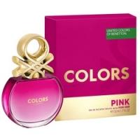 Benetton Colors Pink - Туалетная вода, женская, 50 мл