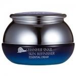 Фото Bergamo Hanhui Snail Skin Refinisher Essential Cream - Крем антивозрастной с муцином улитки, 50 мл
