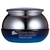 Bergamo Hanhui Snail Skin Refinisher Essential Cream - Крем антивозрастной с муцином улитки, 50 мл