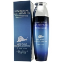 Bergamo Hanhui Snail Skin Refinisher Essential Emulsion - Эмульсия антивозрастная с муцином улитки, 150 мл