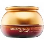 Фото Bergamo Intensive Snake Synake Wrinkle - Крем с экстрактом змеиного яда антивозрастной, 50 мл