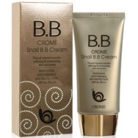 Купить Bergamo Magic Snail Bb Cream Spf 50/PA - ББ-крем с муцином улитки, 50 мл