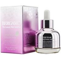 Bergamo Pure Snail Whitening Ampoule - Сыворотка с экстрактом муцина улитки, 30 мл