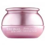 Фото Bergamo Pure Snail Wrinkle Care Cream - Крем для лица с муцином улитки антивозрастной, 50 мл