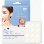 Фото Berrisom AC Solution Acne Clear Spot Patch - Патчи для проблемной кожи, 60 шт