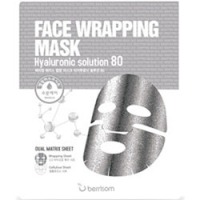 Berrisom Face Wrapping Mask Hyaruronic Solution 80 - Маска для лица с гиалуроновой кислотой, 27 мл