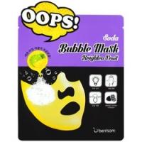 Berrisom Soda Bubble Mask Brighten Fruit - Маска-пилинг для сияния кожи, 18 мл