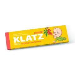 Фото Зубная паста Klatz BABY - Для детей Веселый шиповник, без фтора, 48 мл