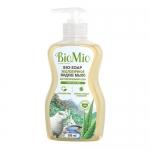 Фото BioMio - Жидкое мыло с гелем алоэ вера, 300 мл