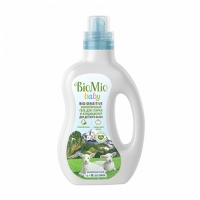 Купить BioMio - Гель и кондиционер для стирки детского белья, 1000 мл