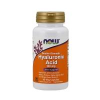 Now Foods Hyaluronic Acid - Гиалуроновая кислота против глубоких морщин и боли в суставах, 60 капсул