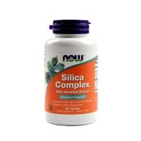 Now Foods Silica Complex - Для укрепления волос и препятствует их выпадению, 90 таблеток