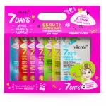 Фото 7 Days - Подарочный набор 7 days Beauty-календарь c вырубным окном 8 масок