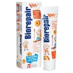 Фото Biorepair Kids - Детская зубная паста Персик, 50 мл