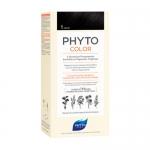 Фото Phyto Color - Краска для волос Черный, оттенок 1, 1 шт