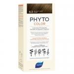 Фото Phyto Color - Краска для волос Темный золотистый блонд, оттенок 6.3, 1 шт