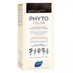 Фото Phyto Color - Краска для волос Насыщенный глубокий каштан, оттенок 4.77, 1 шт