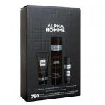Фото Estel Alpha Homme - Набор. Шампунь для волос (250 мл), крем для бритья (100 мл), крем после бритья (50 мл))