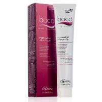 Купить Kaaral Baco Permanent Haicolor - Перманентный краситель для волос с гидролизатами шелка, 7.42 медно-фиолетовый блондин, 100 мл, Красители для волос