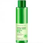 Bioaqua Aloe Vera 92% - Тонер освежающий и увлажняющий для лица с алоэ вера, 120 г
