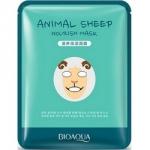 Фото Bioaqua Animal Face Sheep - Маска для лица осветляющая, 30 г