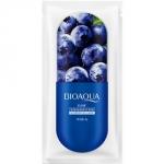 Фото Bioaqua Blueberry Jelly Mask - Маска ночная для лица с экстрактом черники, 8 г