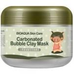 Фото Bioaqua Carbonated Bubble Clay Mask - Маска очищающая пузырьковая, 100 г