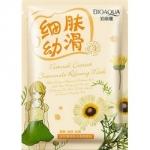 Фото Bioaqua Natural Extract - Маска очищающая с экстрактом ромашки, 30 г