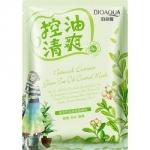 Фото Bioaqua Natural Extract - Маска освежающая с маслом чайного дерева, 30 г
