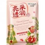 Фото Bioaqua Natural Extract - Маска питательная с экстрактом граната, 30 г