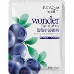 Фото Bioaqua Wonder - Маска увлажняющая с экстрактом черники, 30 г