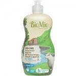 Фото BioMio - Средство для мытья посуды, овощей и фруктов без запаха, 450 мл