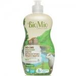 Фото BioMio - Средство для мытья посуды, овощей и фруктов маслом Мяты, 450 мл