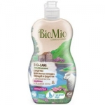 Фото BioMio - Средство для мытья посуды, овощей и фруктов с эфирным маслом Лаванда, 450 мл