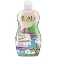 BioMio - Средство для мытья посуды, овощей и фруктов с эфирным маслом Лаванда, 450 мл