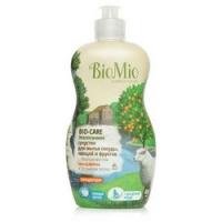 Купить BioMio - Средство для мытья посуды, овощей и фруктов с эфирным маслом Мандарина, 450 мл