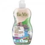 Фото BioMio - Средство для мытья посуды, овощей и фруктов с эфирным маслом Вербены, 450 мл