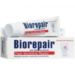 Фото Biorepair Fast Sensitive Repair - Зубная паста для чувствительных зубов, 75 мл
