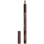 Фото Bourjois Khol & Contour - Контурный карандаш для глаз, тон 005, коричневый, 2 гр