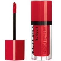 Bourjois Rouge Edition Velvet - Флюид для губ бархатный, тон 03, красный, 7.7 мл